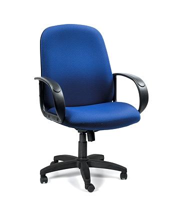 Кресло руководителя CHAIRMAN BUDGET E-279M JP, ткань JP, подлокотники...