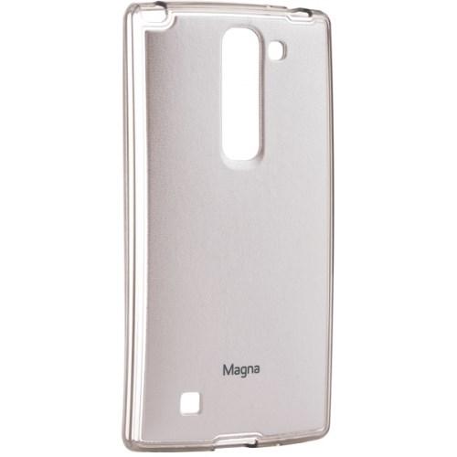 Автотехника Аксессуары LG LG Magna H502F: Cиликоновая накладка (бампер) для LG Magna H502F, белый полупрозрачный