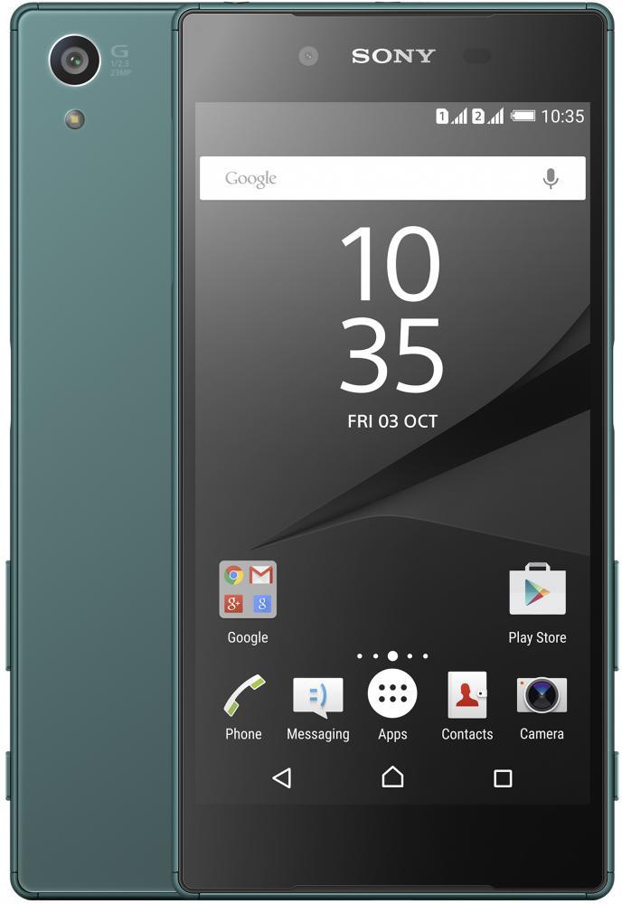 Автотехника Аксессуары Смартфоны Sony: Смартфон Sony Xperia Z5 Dual Green