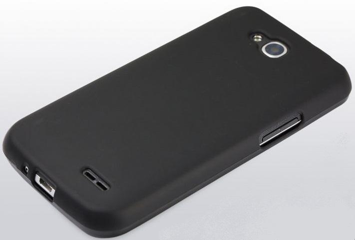 Автотехника Аксессуары LG L90/D410: Cиликоновая накладка (бампер) для LG L90/D410, черный