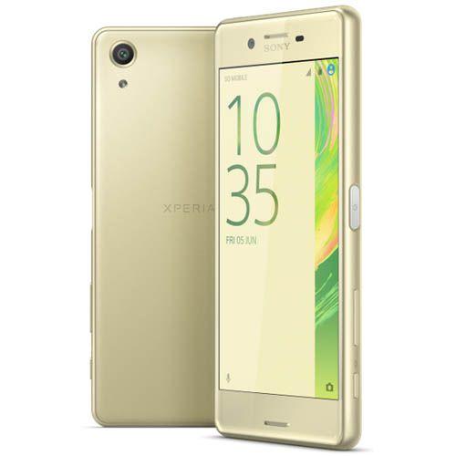 Автотехника Аксессуары Смартфоны Sony: Смартфон Sony Xperia X Performance F8131 Lime Gold